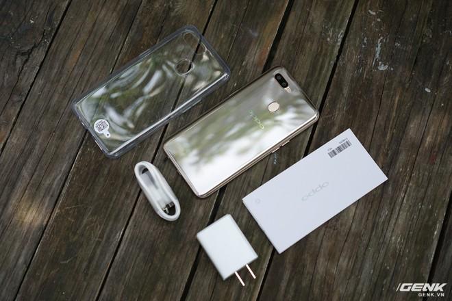 Trên tay OPPO A7: thiết kế đẹp, mặt lưng thủy tinh hữu cơ, cấu hình tầm trung, giá 6 triệu - Ảnh 19.