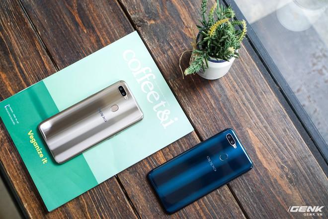 Trên tay OPPO A7: thiết kế đẹp, mặt lưng thủy tinh hữu cơ, cấu hình tầm trung, giá 6 triệu - Ảnh 9.