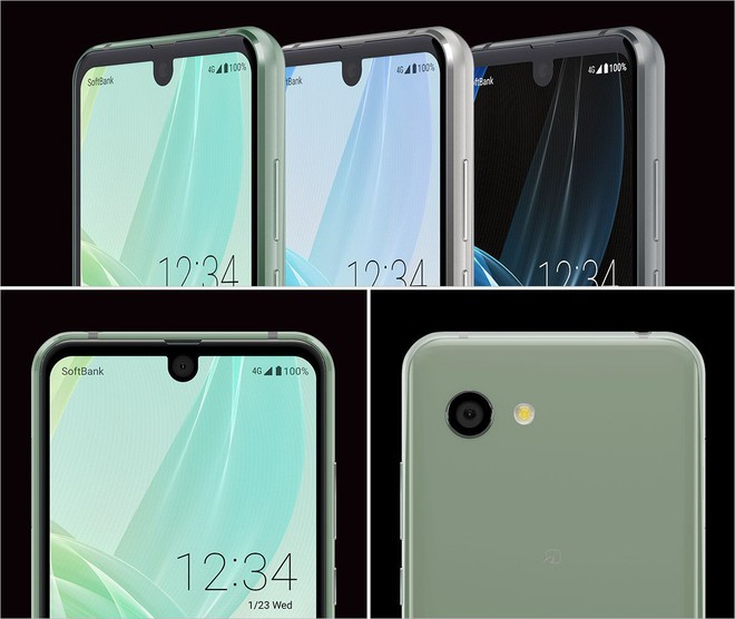 Sharp ra mắt AQUOS R2 Compact, smartphone có cả nốt ruồi và tai thỏ - Ảnh 3.