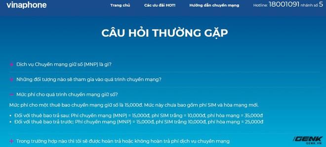 Chính thức: Giá cước Chuyển mạng giữ số giảm một nửa so với dự kiến, chỉ còn 60.000 đồng/lần - Ảnh 2.