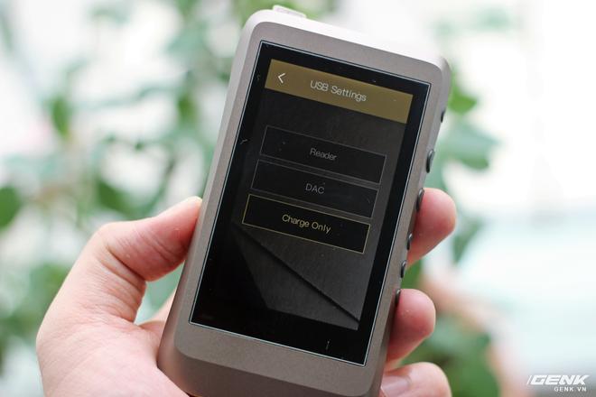 Trên tay máy nghe nhạc iBasso DX120 vừa về Việt Nam: có sạc nhanh, giải mã 32Bit/384kHz, chiến native DSD nhưng giá hơn 7 triệu đồng! - Ảnh 16.