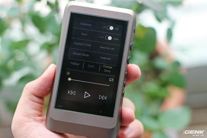 Trên tay máy nghe nhạc iBasso DX120 vừa về Việt Nam: có sạc nhanh, giải mã 32Bit/384kHz, chiến native DSD nhưng giá hơn 7 triệu đồng! - Ảnh 13.