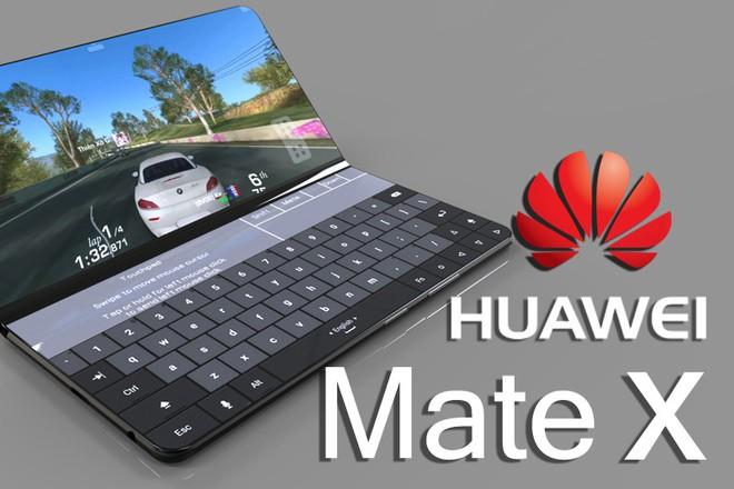Smartphone màn hình gập của Huawei sẽ có màn hình lớn hơn của Samsung, đã có video concept rất ấn tượng - Ảnh 1.