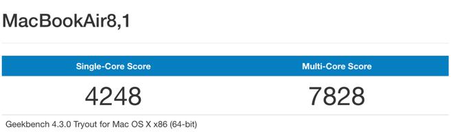 MacBook Air mới có điểm hiệu năng cao hơn 30% so với thế hệ trước, gần bằng MacBook Pro 2017 - Ảnh 2.