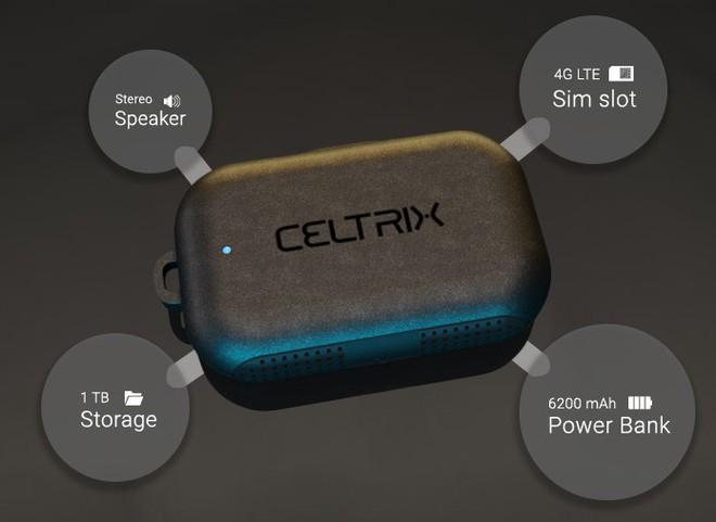 Celtrix - Phụ kiện siêu nhỏ gọn mà đa năng bất ngờ, vừa làm pin dự phòng, ổ cứng không dây, loa di động mà còn tích hợp cả khe cắm SIM! - Ảnh 1.