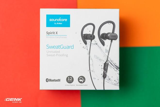 Đánh giá tai nghe không dây Anker Soundcore Spirit X - Hoàn hảo cho các gym thủ - Ảnh 2.