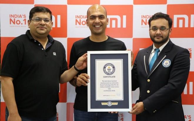 Xiaomi lập kỷ lục Guiness khi khai trương 500 cửa hàng Mi Store cùng lúc - Ảnh 2.