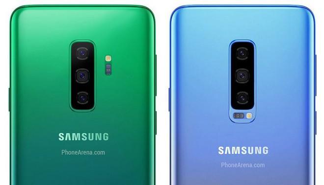 Galaxy S10 sẽ có 4 tùy chọn màu sắc và Galaxy F chỉ có hai lựa chọn màu đen và xám? - Ảnh 1.