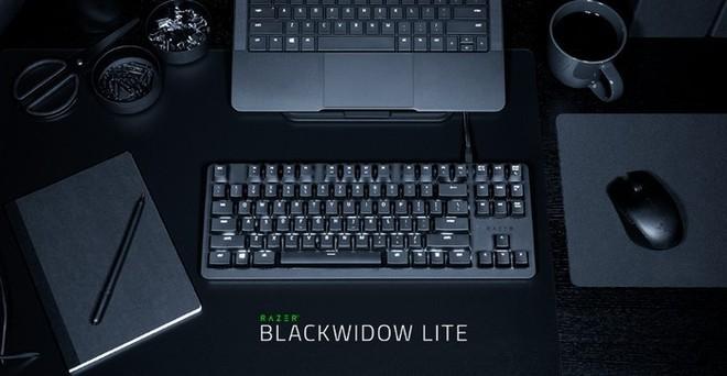 Bàn phím cơ Razer BlackWidow Lite: Switch Orange giảm ồn, phục vụ game thủ và dân văn phòng, giá 2 triệu đồng - Ảnh 1.