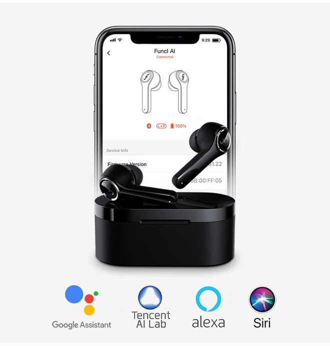 Tai nghe Funcl W1: Giá 450 nghìn mà chất lượng như 2 triệu, dùng Bluetooth 5.0, pin 18 giờ và điều khiển bằng cảm ứng - Ảnh 6.