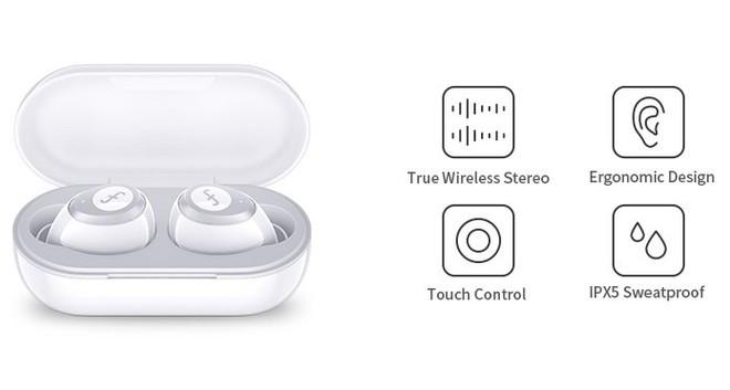 Tai nghe Funcl W1: Giá 450 nghìn mà chất lượng như 2 triệu, dùng Bluetooth 5.0, pin 18 giờ và điều khiển bằng cảm ứng - Ảnh 2.
