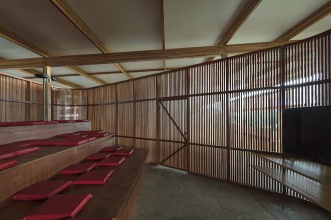Ngôi trường làm từ gỗ và gạch bùn trong rừng nhiệt đới Brazil giành giải kiến trúc xuất sắc nhất thế giới 2018 - Ảnh 15.