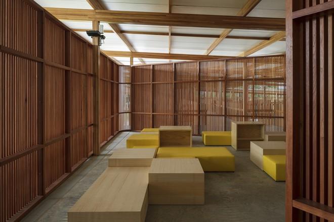 Ngôi trường làm từ gỗ và gạch bùn trong rừng nhiệt đới Brazil giành giải kiến trúc xuất sắc nhất thế giới 2018 - Ảnh 16.