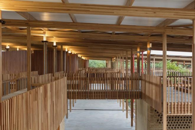Ngôi trường làm từ gỗ và gạch bùn trong rừng nhiệt đới Brazil giành giải kiến trúc xuất sắc nhất thế giới 2018 - Ảnh 10.