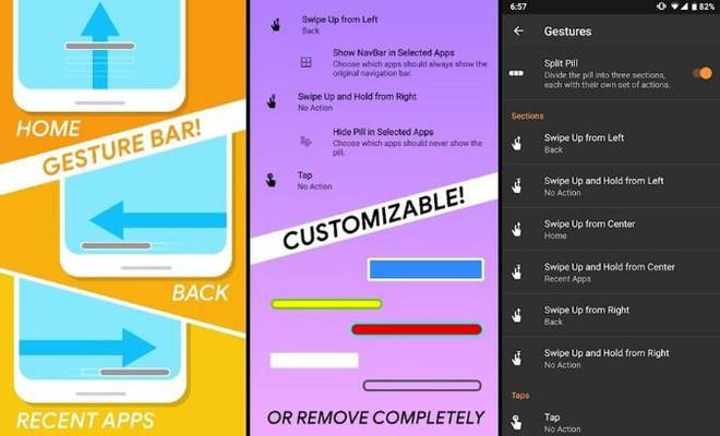 Thích thao tác cử chỉ của iPhone X và Android 9, bạn có thể thử qua những ứng dụng Android miễn phí này - Ảnh 5.