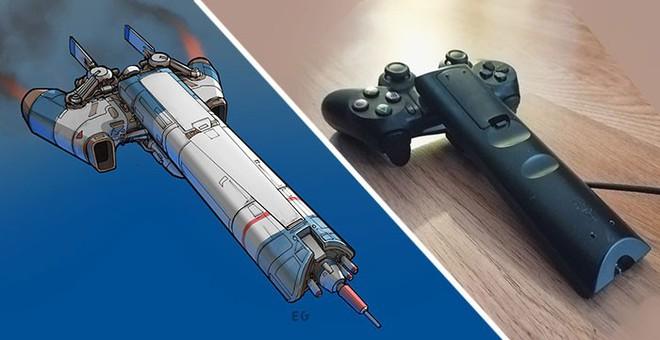 Nghệ sĩ này biến những đồ vật bình thường nhất thành tàu vũ trụ với thiết kế đậm chất viễn tưởng - Ảnh 2.