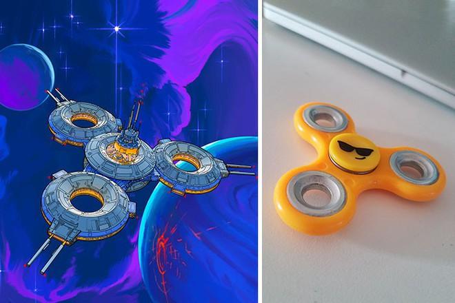 Nghệ sĩ này biến những đồ vật bình thường nhất thành tàu vũ trụ với thiết kế đậm chất viễn tưởng - Ảnh 5.