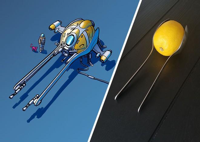 Nghệ sĩ này biến những đồ vật bình thường nhất thành tàu vũ trụ với thiết kế đậm chất viễn tưởng - Ảnh 7.