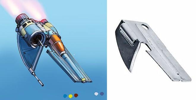 Nghệ sĩ này biến những đồ vật bình thường nhất thành tàu vũ trụ với thiết kế đậm chất viễn tưởng - Ảnh 8.