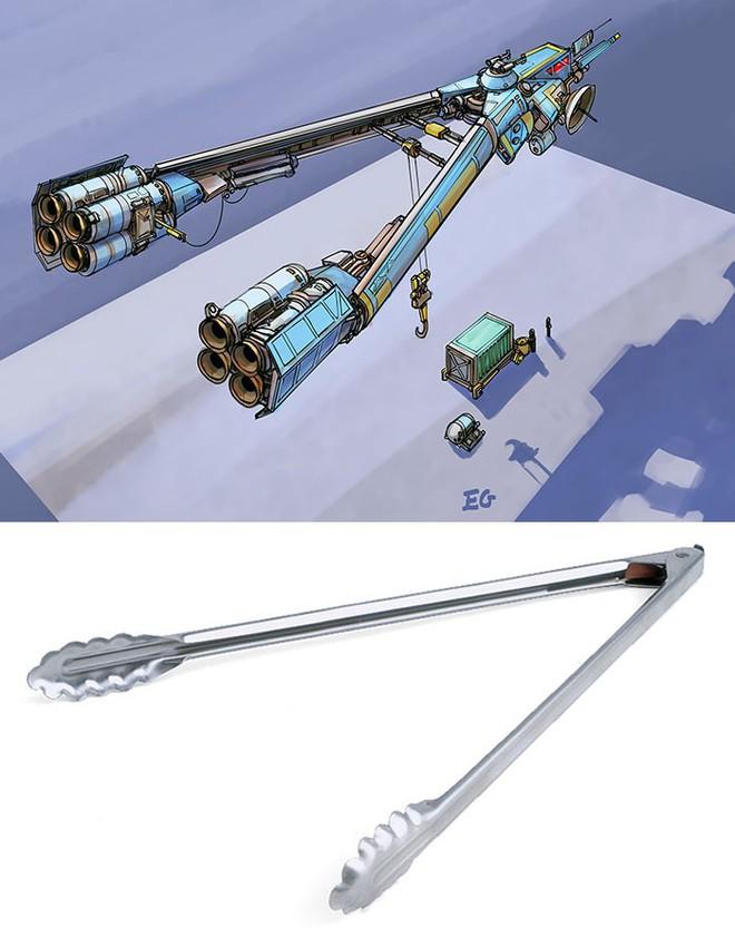 Nghệ sĩ này biến những đồ vật bình thường nhất thành tàu vũ trụ với thiết kế đậm chất viễn tưởng - Ảnh 10.