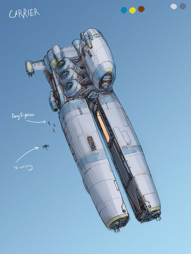 Nghệ sĩ này biến những đồ vật bình thường nhất thành tàu vũ trụ với thiết kế đậm chất viễn tưởng - Ảnh 12.