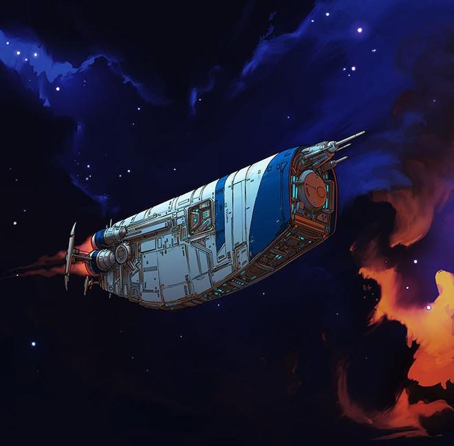 Nghệ sĩ này biến những đồ vật bình thường nhất thành tàu vũ trụ với thiết kế đậm chất viễn tưởng - Ảnh 14.