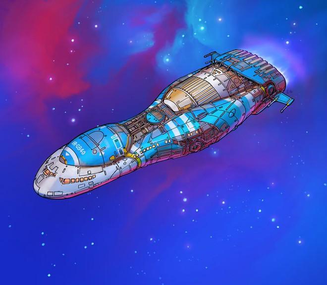 Nghệ sĩ này biến những đồ vật bình thường nhất thành tàu vũ trụ với thiết kế đậm chất viễn tưởng - Ảnh 16.
