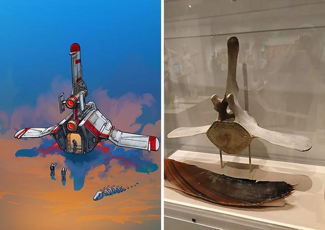 Nghệ sĩ này biến những đồ vật bình thường nhất thành tàu vũ trụ với thiết kế đậm chất viễn tưởng - Ảnh 17.