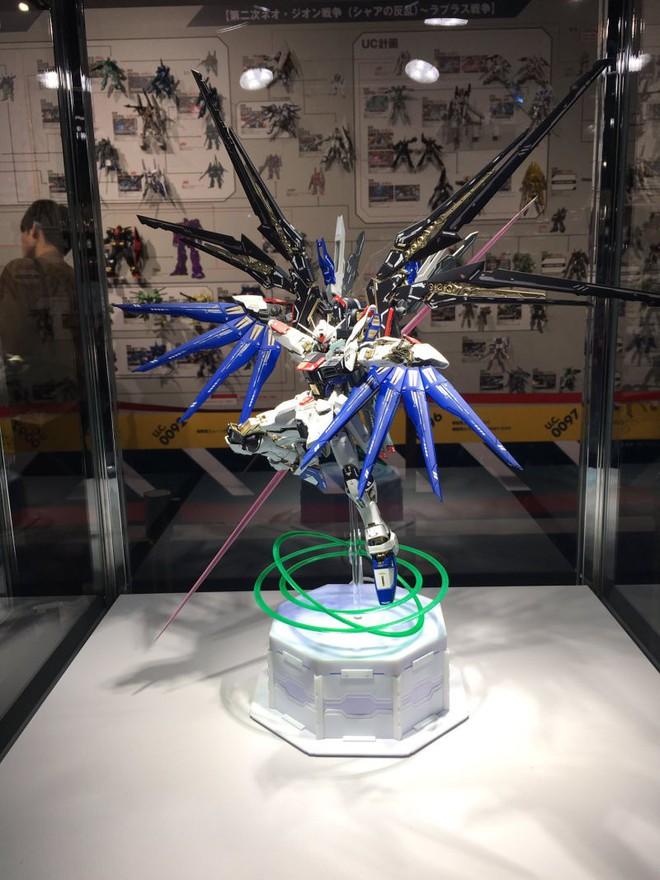 Mê mẩn với loạt gundam đẹp nhất Nhật Bản, đại diện Xứ sở hoa Anh đào tại Gunpla Builders World Cup 2018 - Ảnh 9.