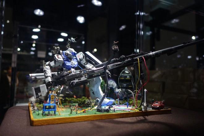 Mê mẩn với loạt gundam đẹp nhất Nhật Bản, đại diện Xứ sở hoa Anh đào tại Gunpla Builders World Cup 2018 - Ảnh 10.