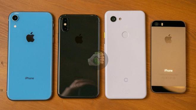 Thêm hình ảnh Pixel 3 Lite so sánh với những chiếc smartphone khác, không hề bé nhỏ như chúng ta nghĩ - Ảnh 3.