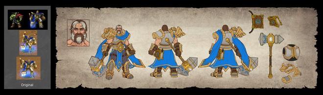 Những hình ảnh đầu tiên về WarCraft III: Reforged, phiên bản remake đồ họa 4K sẽ khiến bạn khóc vì vui sướng - Ảnh 8.