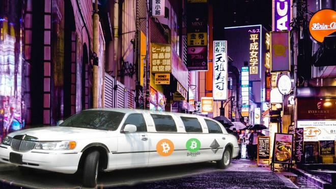 Du khách đến thăm Tokyo có thể thuê xe limousine bằng Bitcoin - Ảnh 1.