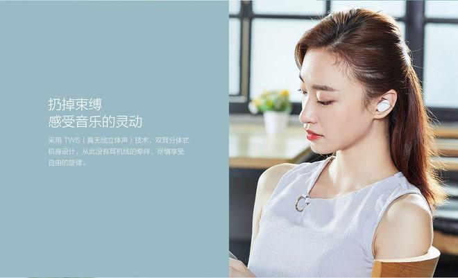 Xiaomi ra mắt tai nghe bluetooth AirDots: True wireless, Bluetooth 5.0, pin 4 tiếng, giá 700.000 đồng - Ảnh 3.