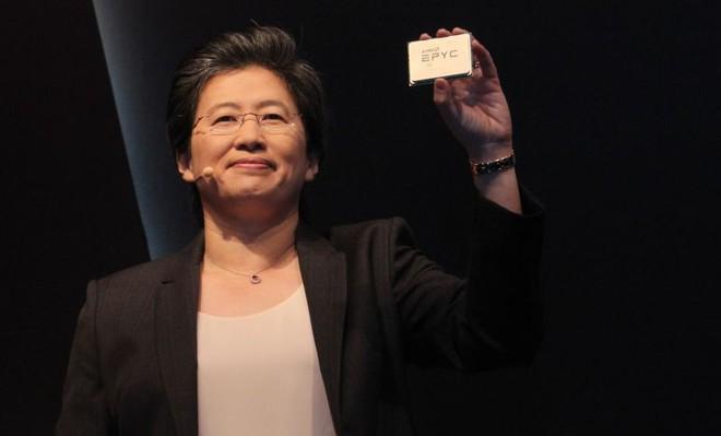 Chip Epyc của AMD sẽ được dùng trong đám mây Amazon, cổ phiếu AMD lập tức tăng mạnh, Intel đi xuống - Ảnh 1.