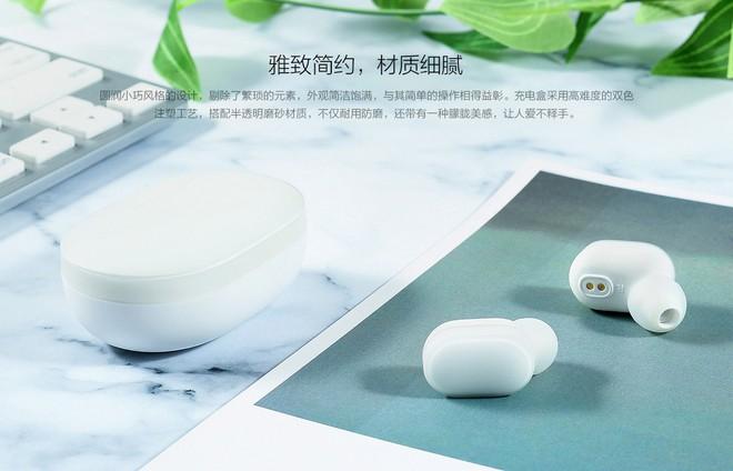 Xiaomi ra mắt tai nghe bluetooth AirDots: True wireless, Bluetooth 5.0, pin 4 tiếng, giá 700.000 đồng - Ảnh 2.