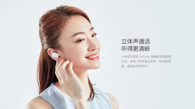 Xiaomi ra mắt tai nghe bluetooth AirDots: True wireless, Bluetooth 5.0, pin 4 tiếng, giá 700.000 đồng - Ảnh 4.