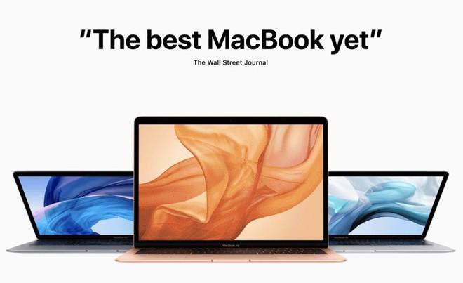 Các trang công nghệ hàng đầu thế giới nói gì về MacBook Air (2018) vừa ra mắt của Apple? - Ảnh 1.