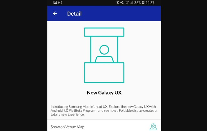Smartphone màn hình gập của Samsung sẽ chính thức lộ diện vào đêm nay - Ảnh 2.