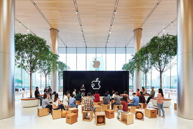 Apple khoe những bức ảnh đầu tiên chụp bên trong Apple Store Thái Lan, sẵn sàng khai trường vào ngày mai 10/11 - Ảnh 2.