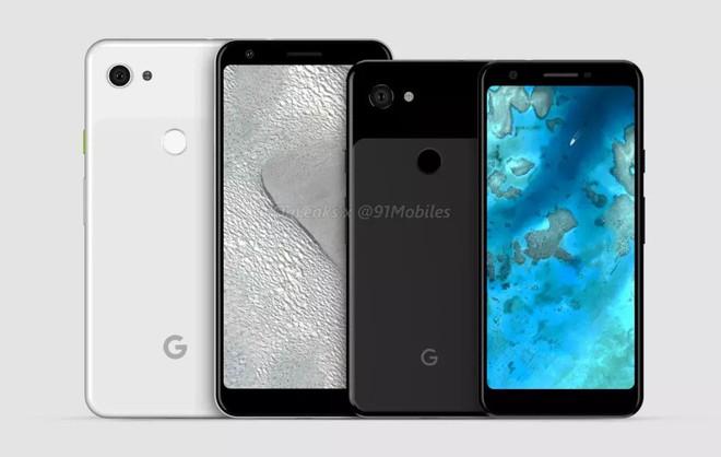 Pixel 3 Lite XL lộ diện với thiết kế không tai thỏ, màn hình 6 inch, viền bezel siêu dày - Ảnh 1.