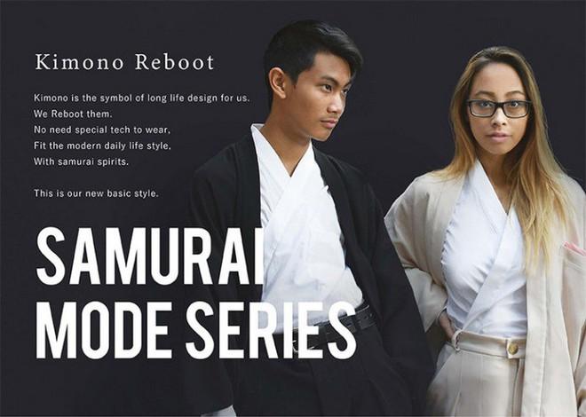 Ấn tượng với bộ sưu tập quần áo hàng ngày phối trộn trang phục truyền thống samurai, haori và hakama của Nhật Bản - Ảnh 2.