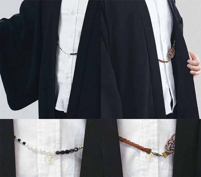 Ấn tượng với bộ sưu tập quần áo hàng ngày phối trộn trang phục truyền thống samurai, haori và hakama của Nhật Bản - Ảnh 5.