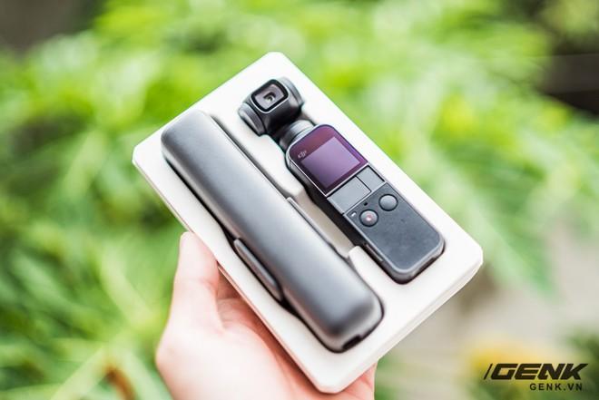 Mở hộp, trên tay DJI Osmo Pocket: Lựa chọn mới cho Vlogger và Phượt thủ - Ảnh 1.