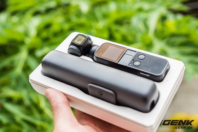 Mở hộp, trên tay DJI Osmo Pocket: Lựa chọn mới cho Vlogger và Phượt thủ - Ảnh 2.
