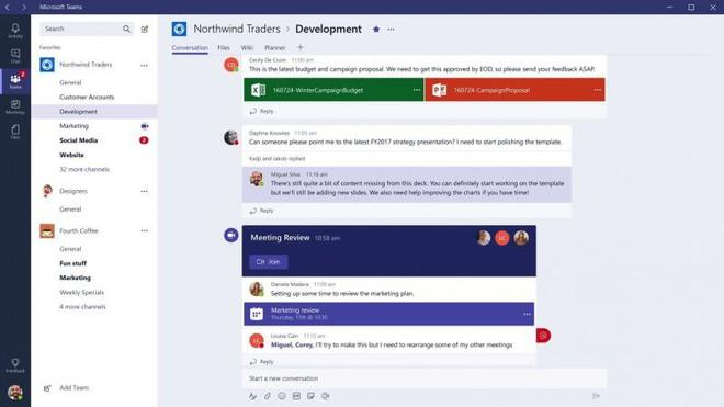 Ứng dụng chat doanh nghiệp Microsoft Teams tăng trưởng thần kỳ, từ 3% lên 21% trong 3 năm - Ảnh 1.