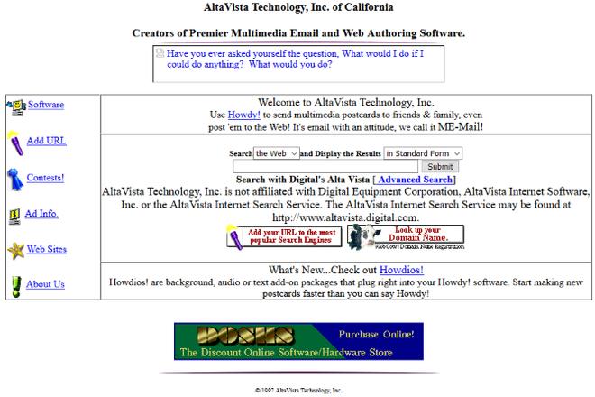 Quay ngược thời gian, xem 12 website nổi tiếng ngày xưa trông ra sao - Ảnh 11.