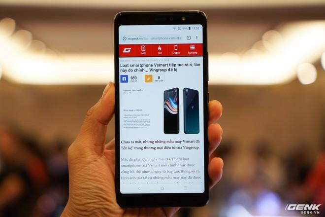 Cận cảnh 4 smartphone Vsmart vừa được ra mắt: thiết kế hiện đại, cấu hình ổn, giá từ 2,49 triệu - Ảnh 11.