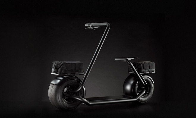 Stator: Mẫu xe điện hai bánh tự cân bằng, lốp to như lốp xe hơi, chỉ có một tay lái, tốc độ tối đa 40km/h - Ảnh 3.