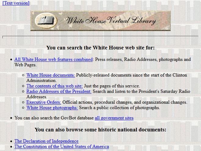 Quay ngược thời gian, xem 12 website nổi tiếng ngày xưa trông ra sao - Ảnh 12.